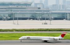 JAL、広島空港でMD-90退役イベント 30日夜