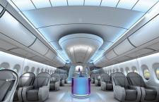 独ショットの機内LED照明、エアバス機で採用へ