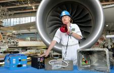 全日空とボーイング、787の改良型バッテリーと作業公開
