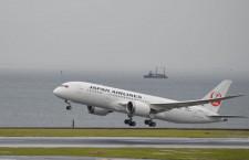 日航、787がホノルルに緊急着陸 けが人なし