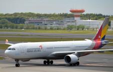 アシアナ航空、成田-ソウル臨時便 14日と16日、貨物も