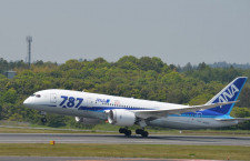 ANAの787、エンジン不具合で成田引き返し 別機材で再出発