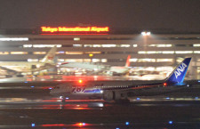 高松に緊急着陸の全日空787、120日ぶりに羽田へ帰還