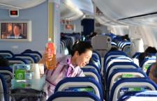全日空、臨時便で787商業運航再開 熟睡する乗客も