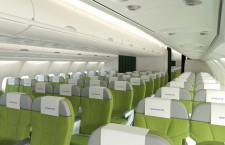 スカイマーク、A330は上級「グリーンシート」のみ 737は2クラスへ