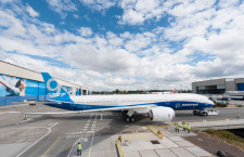 ボーイング、787-9初号機が完成 初飛行は今夏以降