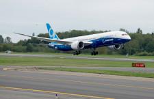 ボーイング、787-9の初飛行成功