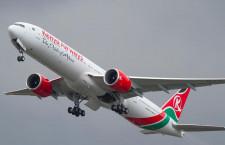 ボーイング、ケニア航空に777-300ER初号機納入