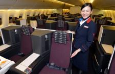 日航、国際線用767の新シート公開 12月にバンクーバー線投入