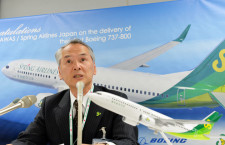 春秋航空日本、上級クラス席導入 人材はリンクからも