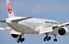 JALの777-300、羽田へ緊急着陸 けが人なし