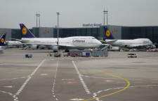 ルフトハンザグループ14年1-3月期、旅客数2170万人 利用率は75.6%