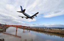 ANA、仙台と福島で747卒業フライト 両空港でローパスも