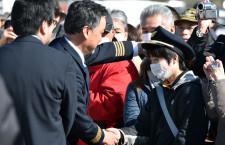 ANA、747-400卒業フライト 写真特集・福島編