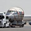 JAL、「空の貴婦人」DC-8富士号を陸送