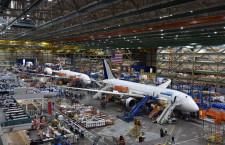 787、胴体接合部に不具合も飛行支障なし ANAとJAL、通常運航