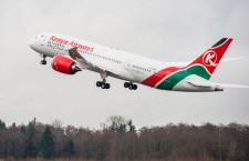 ボーイング、ケニア航空に787初号機納入