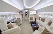 エアバス、ACJ319をEBACEで展示