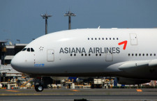 アシアナ航空、A380で遊覧飛行 31日ソウル発着、宮崎上空を飛行