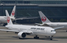 JAL、NY行きが羽田へ緊急着陸 離陸時に鳥衝突か、機材変え夕方再出発へ