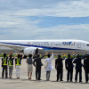 ANA、787-9世界初の旅客飛行 ケネディ駐日大使「日米連携のシンボル」