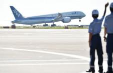 787-9が世界初就航 ANA篠辺社長「お肌にやさしい飛行機」