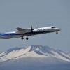 ANA、北海道テーマのQ400フォトコンテスト 1月から
