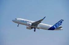 エアバス、A320neoの初飛行成功