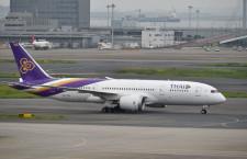 タイ国際航空、中部深夜7月増便