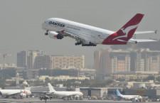 カンタス航空のA380、8機運航停止 新型コロナ影響、9月まで