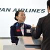 JAL、空港接客No.1にソウル金浦・イさん 海外勢初出場で