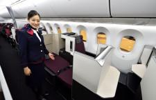 JAL、成田-シアトル27年ぶり再開へ 787新2クラス機、アラスカ航空と提携強化