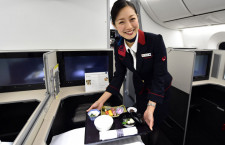 JAL、最新787は快適性で勝負 写真特集・スカイスイート787