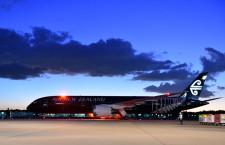 ニュージーランド航空の787-9、成田に初就航