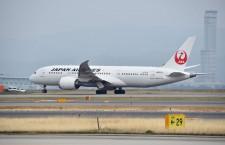 伊丹と神戸、代替便の受入終了 JAL香港便は関空発着に