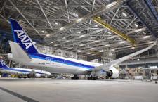 ANA、787-9国際線仕様を5月就航 リアルタイムでテレビ視聴も
