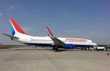 初のネット対応737新造機、露トランスアエロに納入 衛星アンテナ装備
