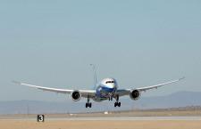 ボーイング、中部空港に787試験初号機寄贈へ