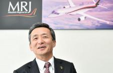 MRJの性能向上「可能性探る」 森本社長インタビュー 特集・パリ航空ショー2015(2)