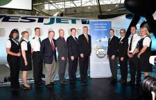 ボンバルディア、Q400納入累計500機 カナダの地域航空会社に