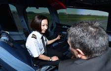 コックピットもUV対策を 特集・日本初のJAL女性機長が歩む道(後編)