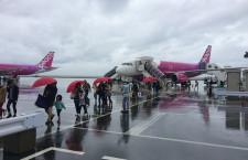 機材繰りと空港閉鎖でピーチ遅延 搭乗ルポ・2日でLCC 4社に乗ってみた 2015(2)