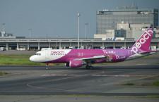 ピーチ、羽田-台北1月以降運休 国際線、3月まで大幅減便