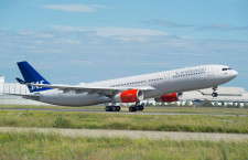 スカンジナビア航空、242トン型のA330-300初受領