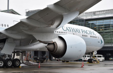 キャセイパシフィック航空、成田除き運休続く 10月も9割減便