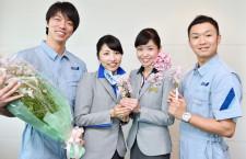 花好きのANA整備士「都会で自然感じて」 愛媛の新種「さくらひめ」PRを企画