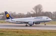 エアバス、A320neo初号機納入 ルフトハンザに
