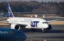 LOTポーランド航空、成田デイリー化 19年3月、週2往復増便