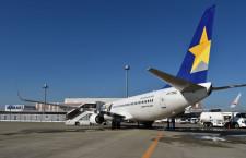 スカイマーク、国内線58%減便 2空港で全便運休、復便傾向も