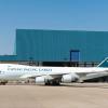 キャセイパシフィック航空の新塗装機、747貨物機にも 香港に到着